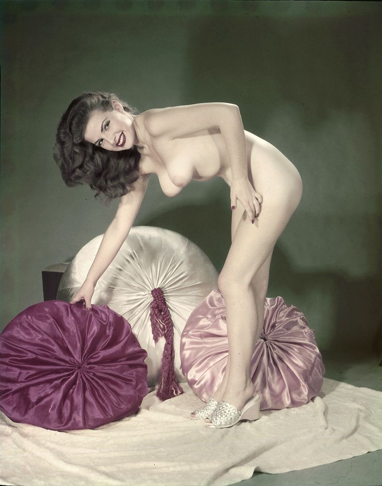 best of Pinup 1950 nude style girl