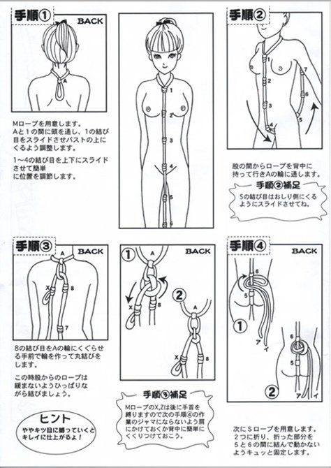 Nightcap reccomend Simple rope bondage positions
