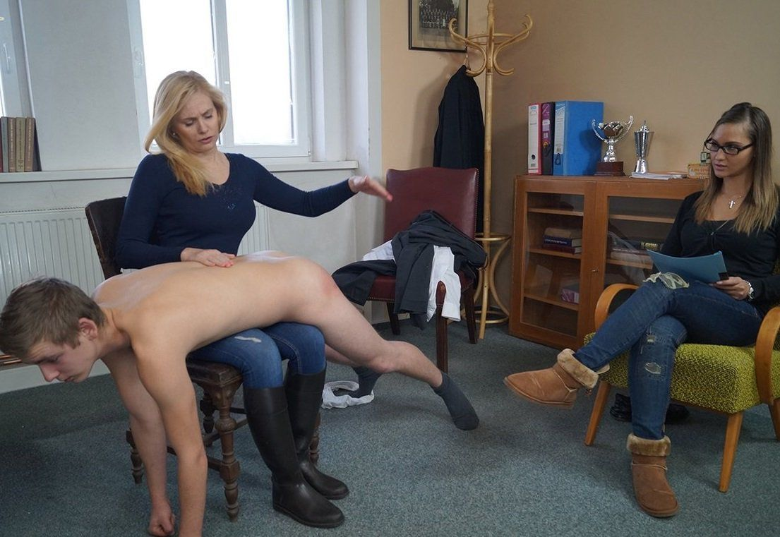 Think, Spank discipline wife public humiliation bare butt