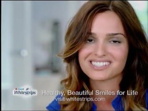 ZD reccomend Redhead in crest whitestrips commercial