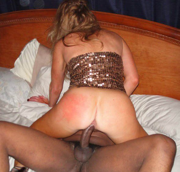 Amateur Wife Riding Black Cock