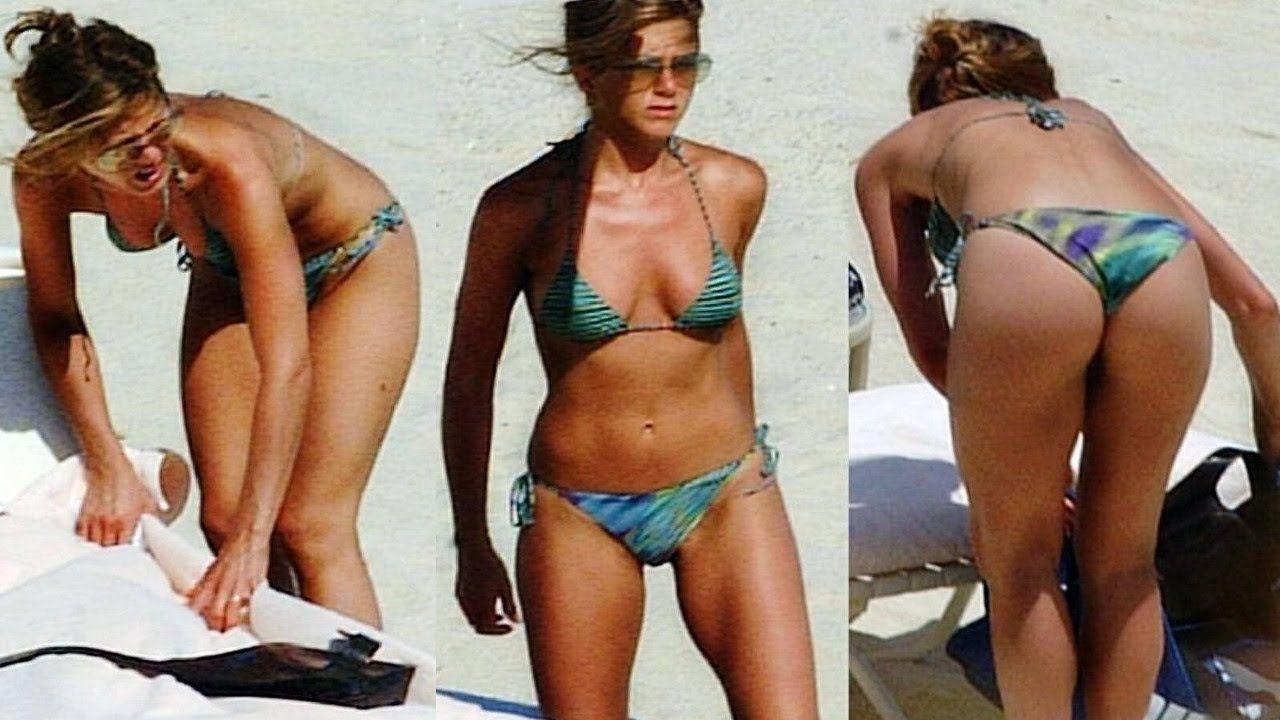 Fiddle reccomend Jennifer aniston purple bikini poster