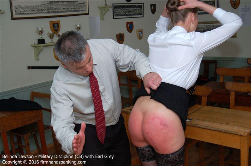 Military discipline classic spank