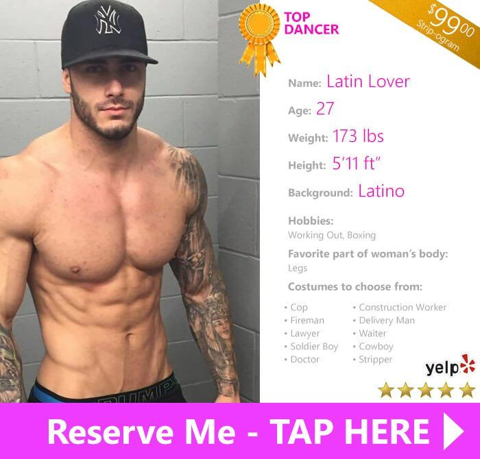 Not agree Latino male strippers