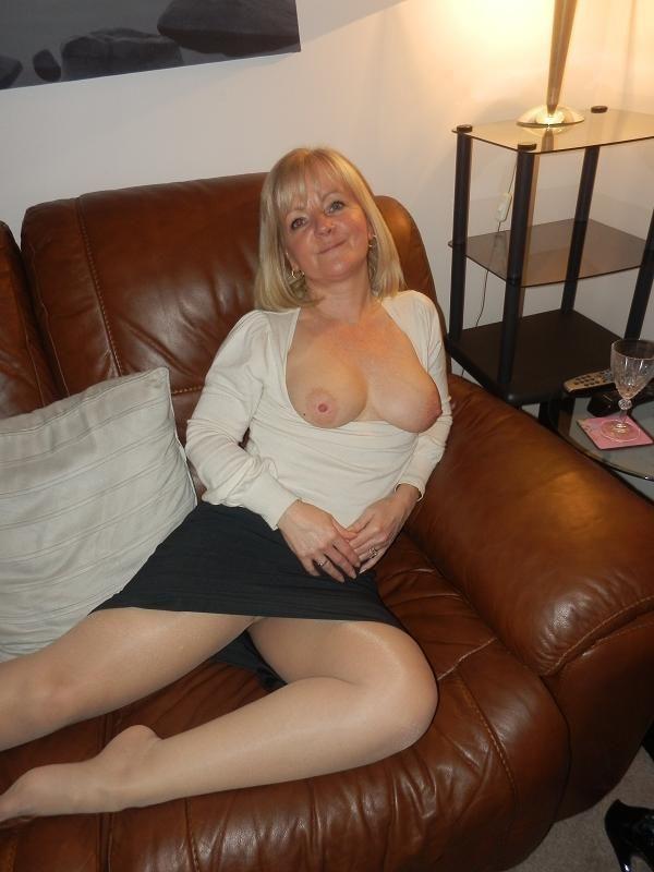Semi nude mature