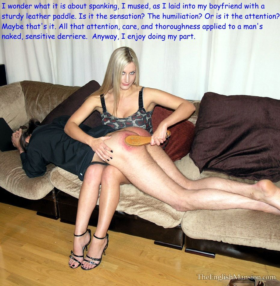 Spanking wife gang porn