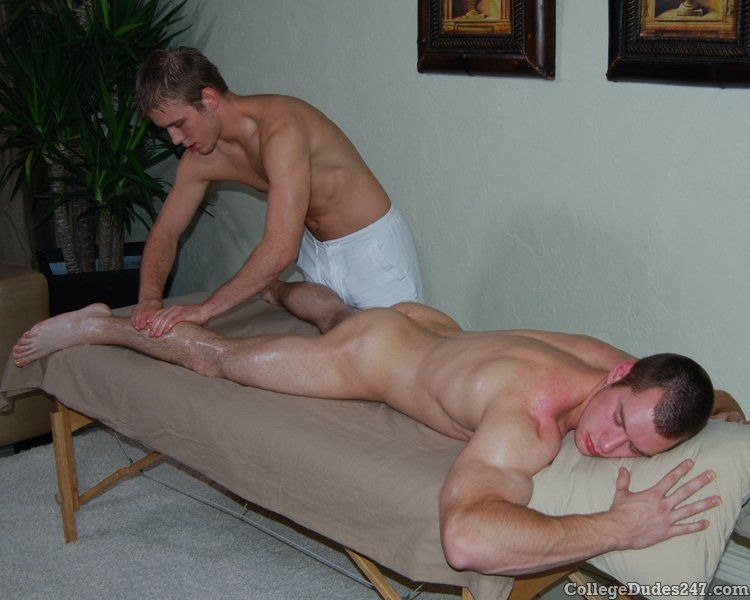 Gay massage porn video