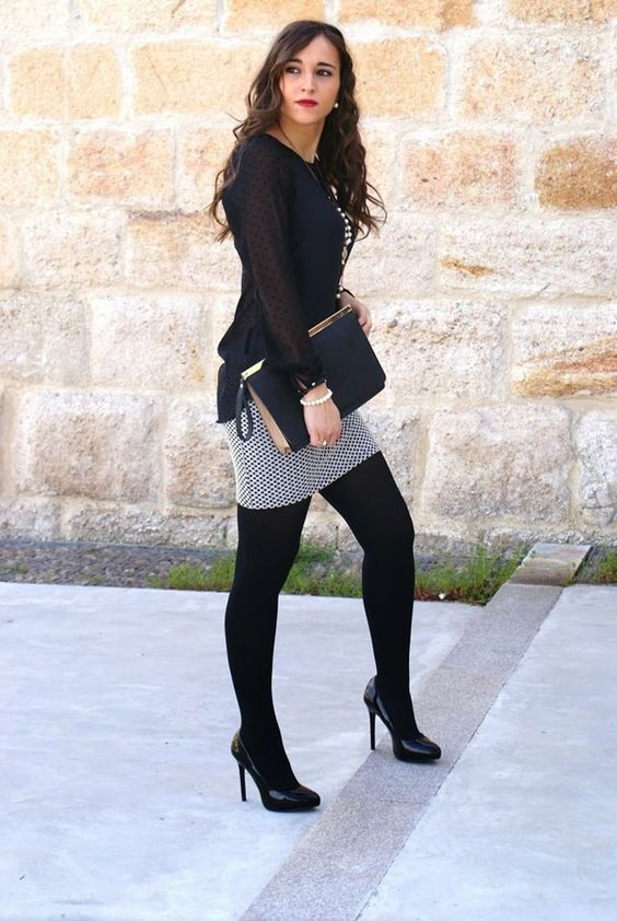 best of Skirt Pantyhose boots