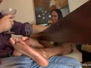 Junior M. reccomend Mckenzie Sweet Under Table Footjob And Fucking
