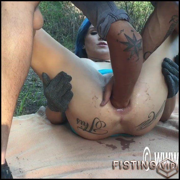 Ariana jolie interracial anal