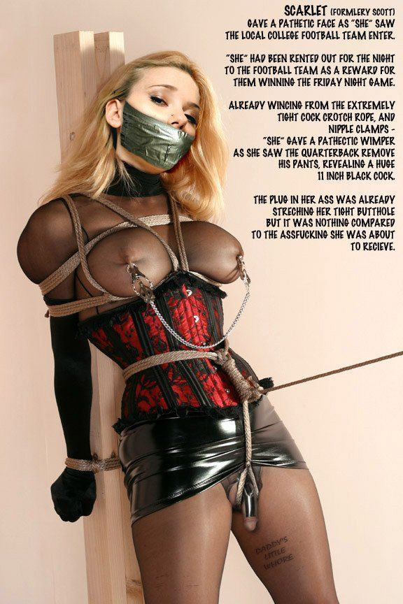 Shemale Latex Bondage Captions Dupose 1