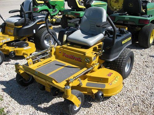 Used hustler lawn mowers for sale