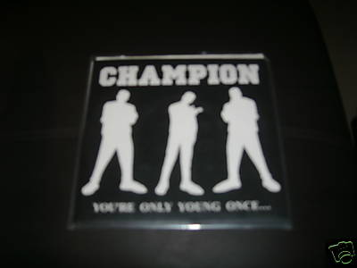 Baron reccomend Champion come out swinging