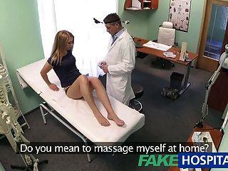 Massage doctors voyeur