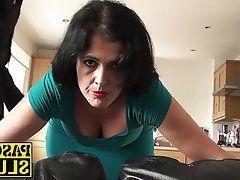 Spanked wife swinger