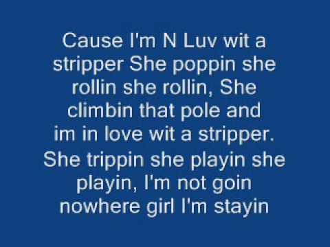 best of In tpain Im love stripper