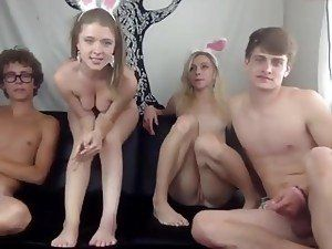 Slut wife Cathy in yet another nasty gangbang