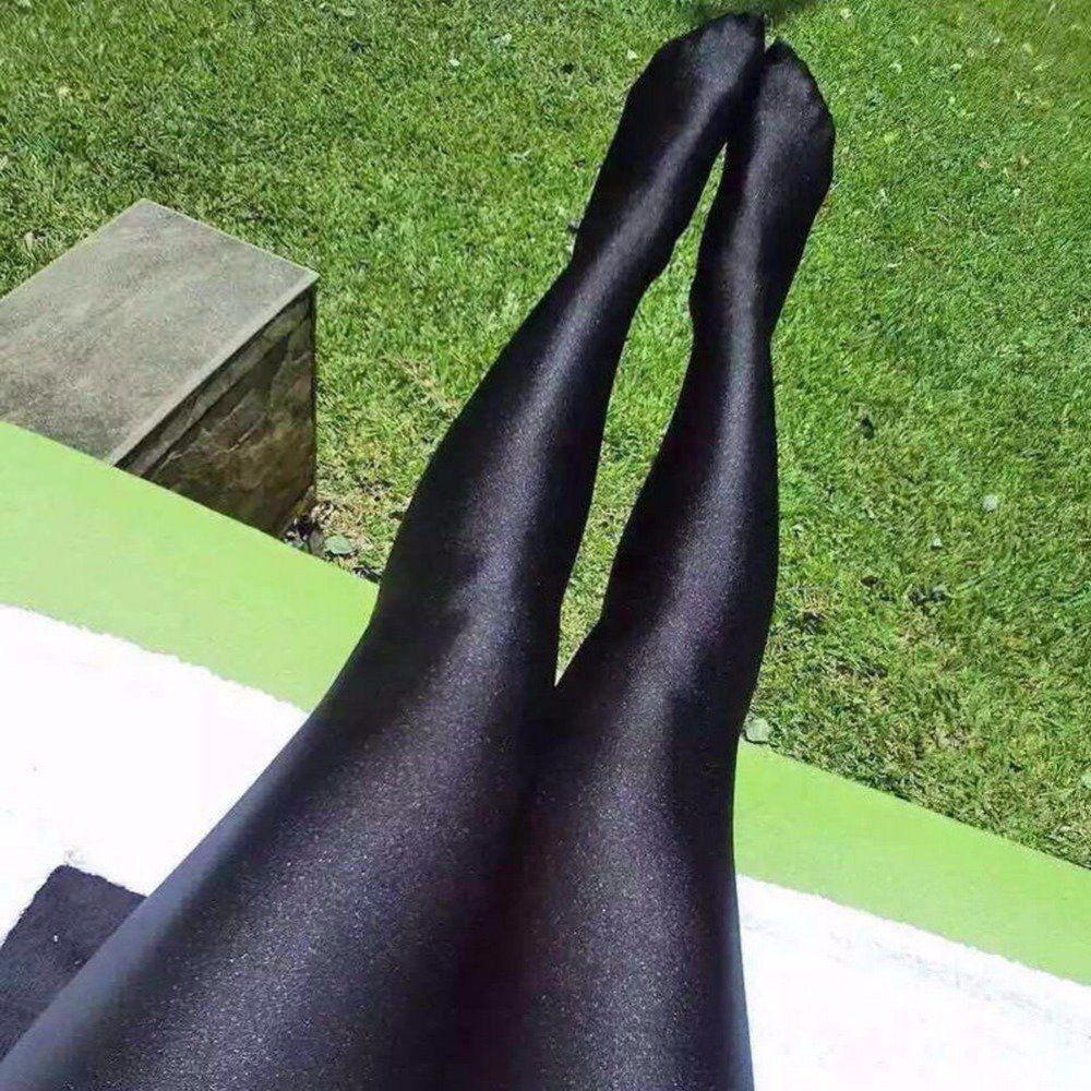 Champ reccomend Black shiny pantyhose