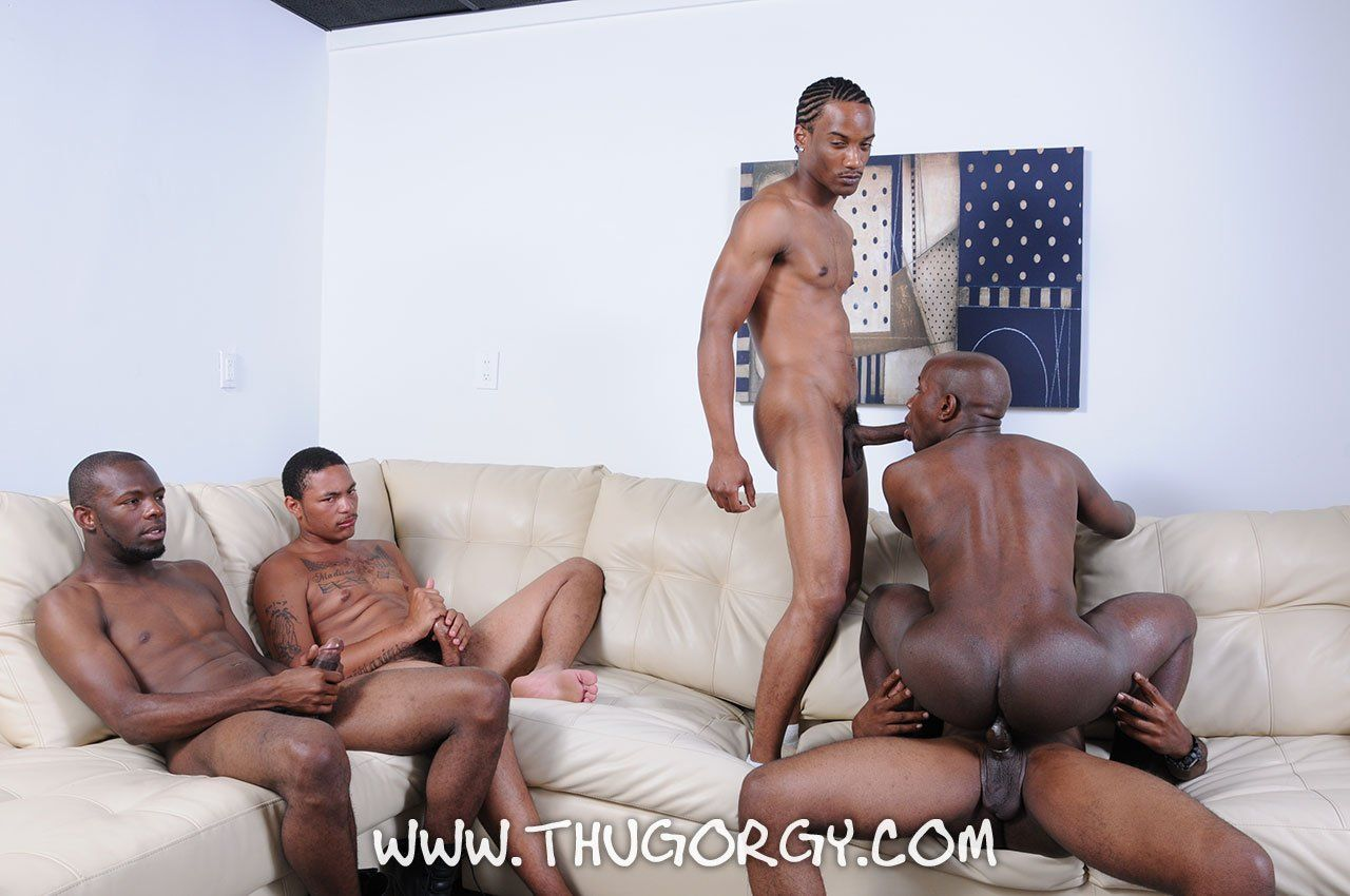Steamy gay orgy fun