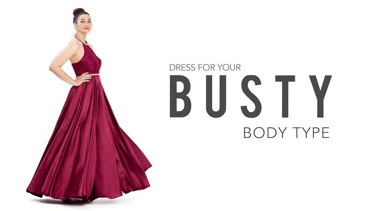 Busty small dress