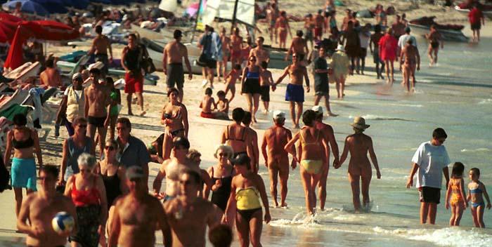 nudist beaches martin St