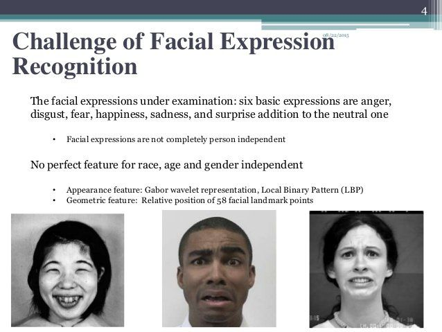 Facial expression recognition ppt