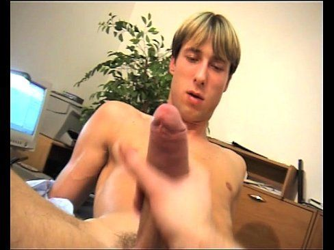 Handjob big cock gay