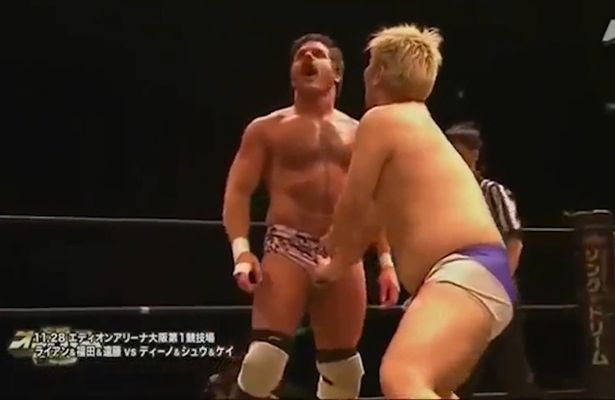 While wrestling orgasm are absolutely
