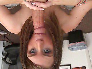 Blonde blue eyes babe Russian lovers having. Teens adult video
