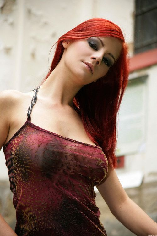best of Redheads busty Over fifty