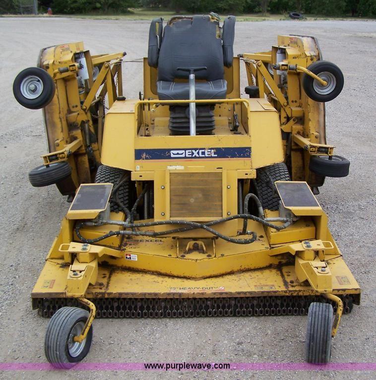 Excel hustler lawn mower