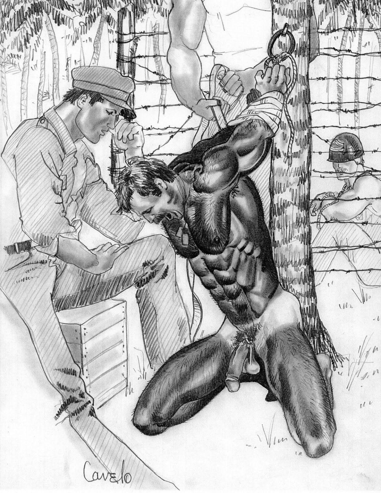 bondage toons Male