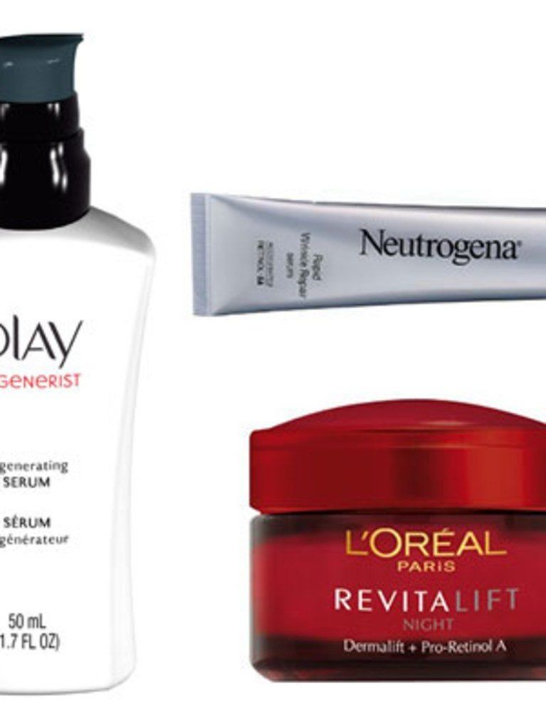 best of With Best drugstore retinol products facial