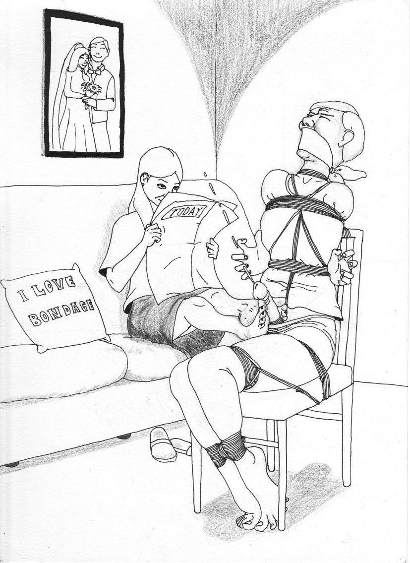 Governor reccomend Male bondage drawings