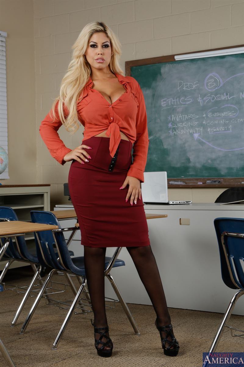 Bitsy B. reccomend Busty teacher gallery