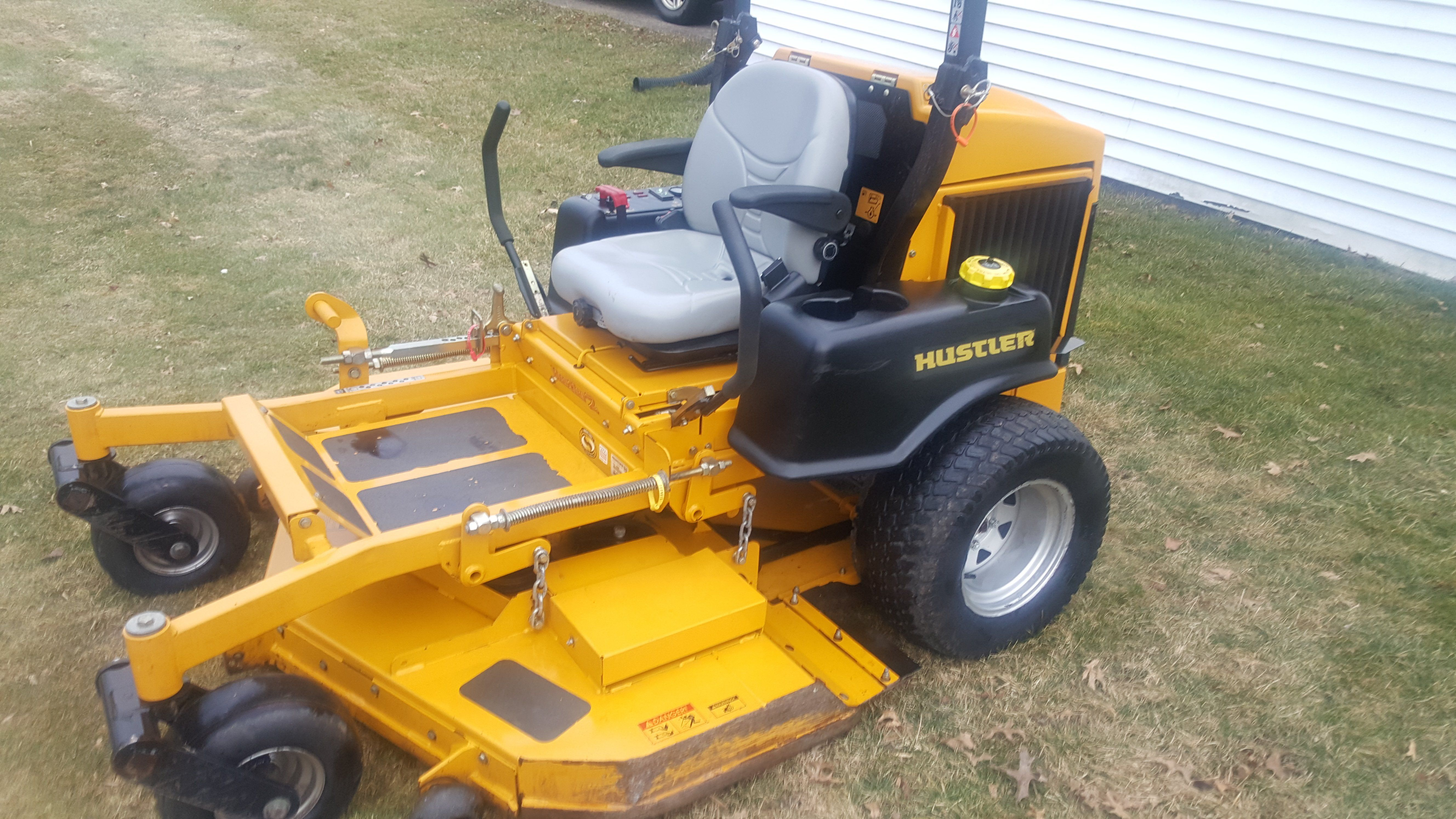 Killer F. reccomend Used hustler lawn mowers for sale