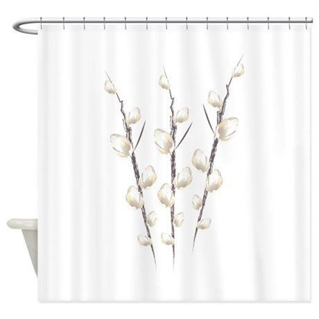 Peppermint reccomend Pussy willow shower curtain