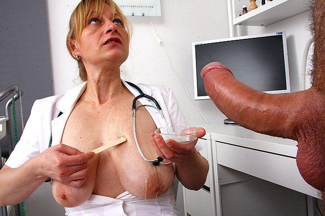 Doctor hand job