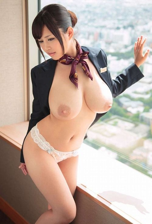 Busty kjapanese nude model with gi tits