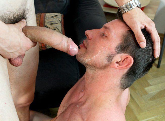 Lick the big cock