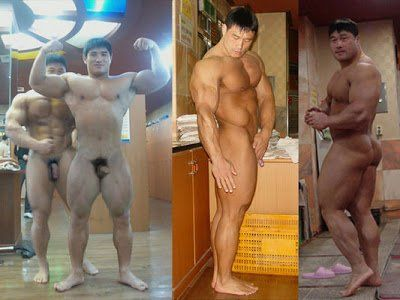 Male bodybuilders asian naked consider, that you