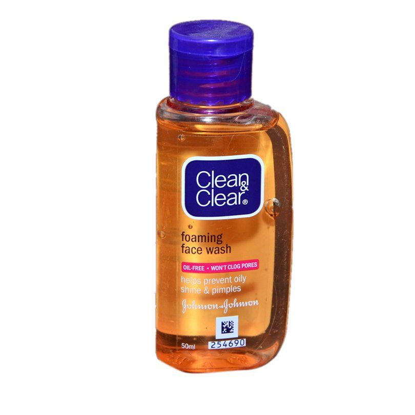 best of Oil foaming Clean cleanser facial free clear and