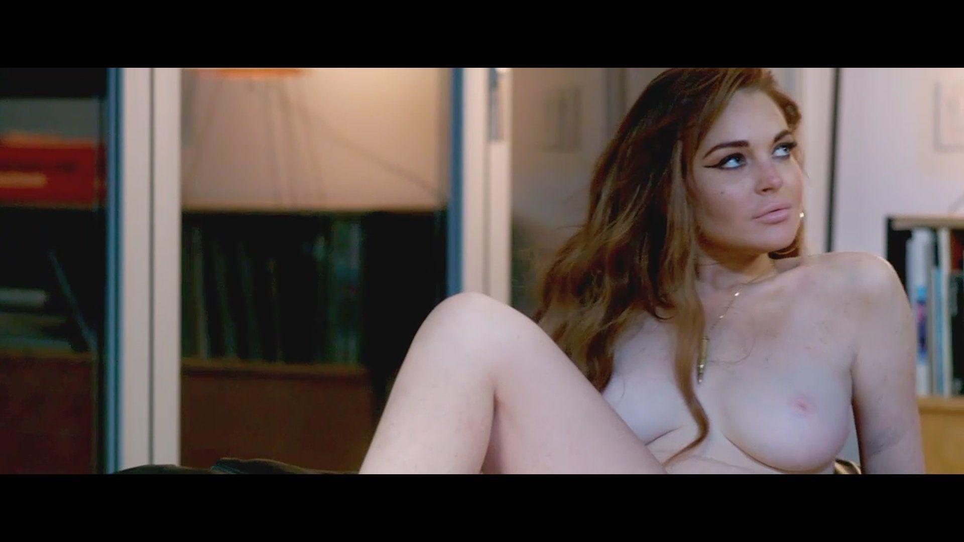 Lohan naked flash