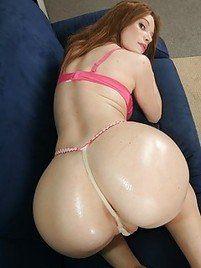 Sexy ass thong porn
