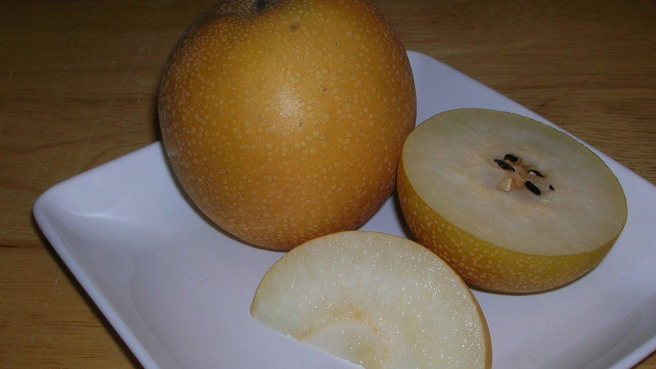 Venus reccomend Asian pears ripe
