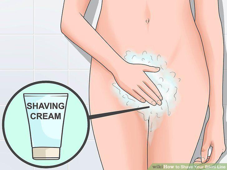 Should i shave my bikini area