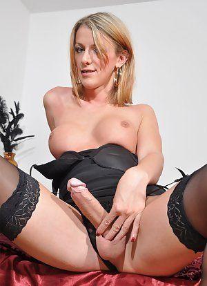 Topless girls sucking dick