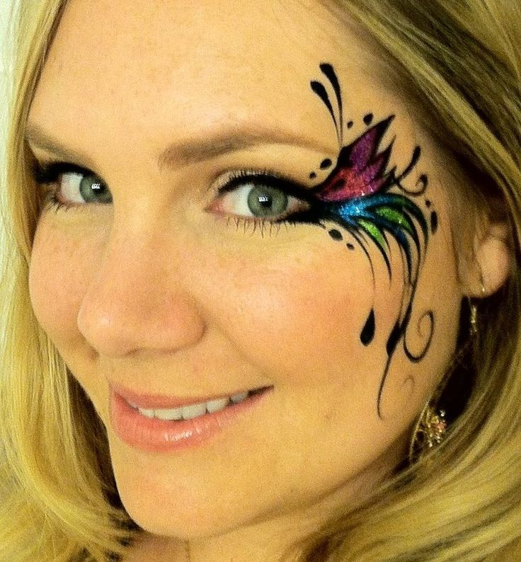Adult face paint designs