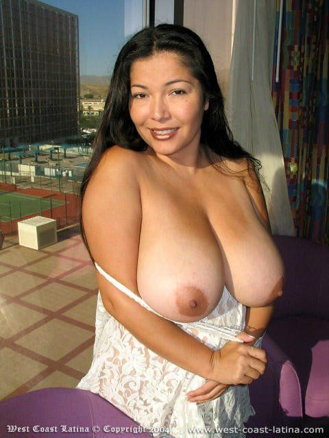 Latina milf with huge tits