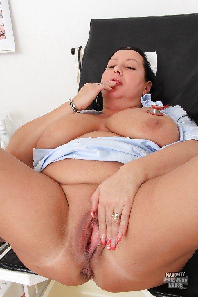 best of Nurse older Big busty